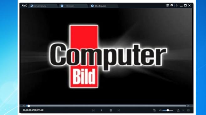 Any Video Converter Free: Konvertieren, abspielen, brennen ©COMPUTER BILD
