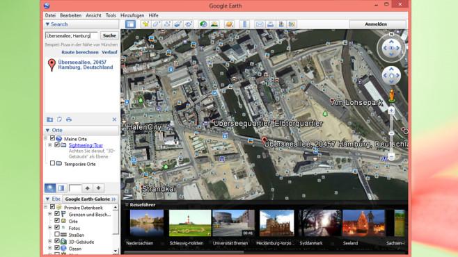 Google Earth: Erde, Ozeane und Weltraum erkunden ©COMPUTER BILD