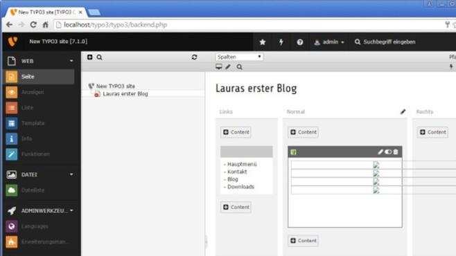 Joomla, WordPress und Typo3: Webseiten erstellen ©COMPUTER BILD