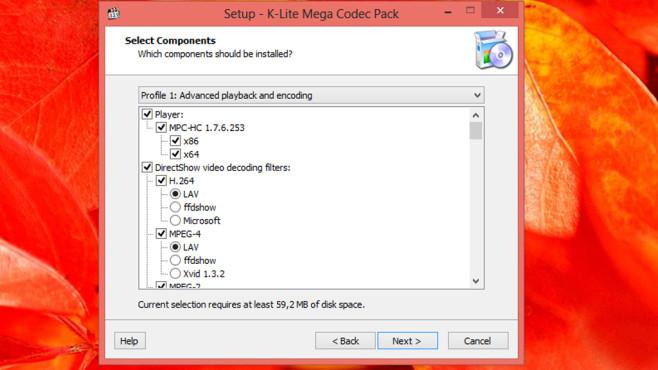 K-Lite Mega Codec Pack: Decoder nachrüsten ©COMPUTER BILD