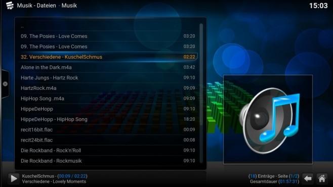 Kodi: Musik, Videos, Fotos im Netzwerk verwalten ©COMPUTER BILD