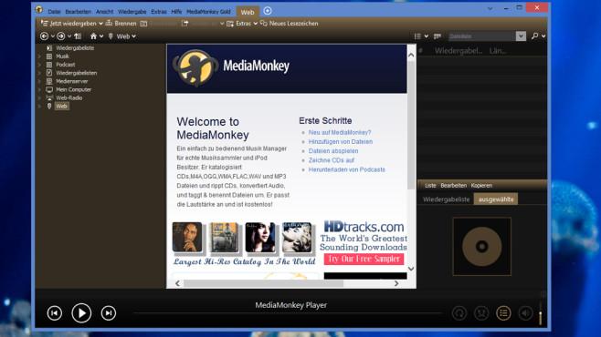 Media Monkey: Musiksammlung verwalten ©COMPUTER BILD