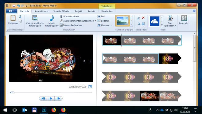 Windows Movie Maker: Videos erstellen und bearbeiten ©COMPUTER BILD