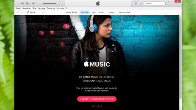 iTunes: Apple-Mobilhardware und Songs im Griff ©COMPUTER BILD