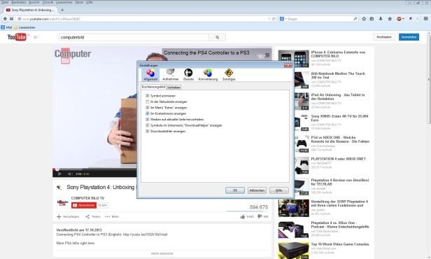 Video DownloadHelper ©COMPUTER BILD
