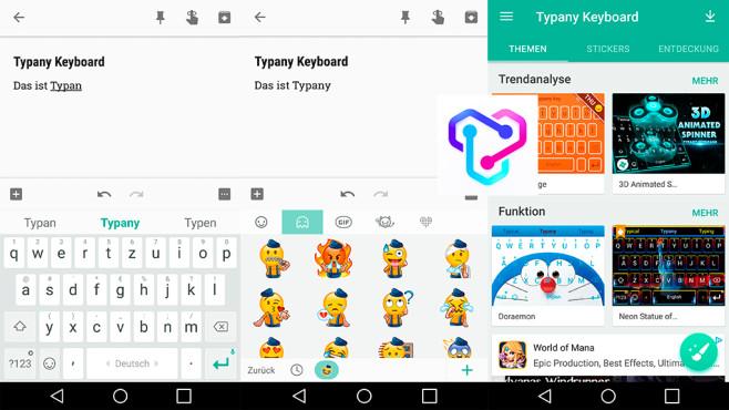Typany Keyboard ©Typany Keyboard Team