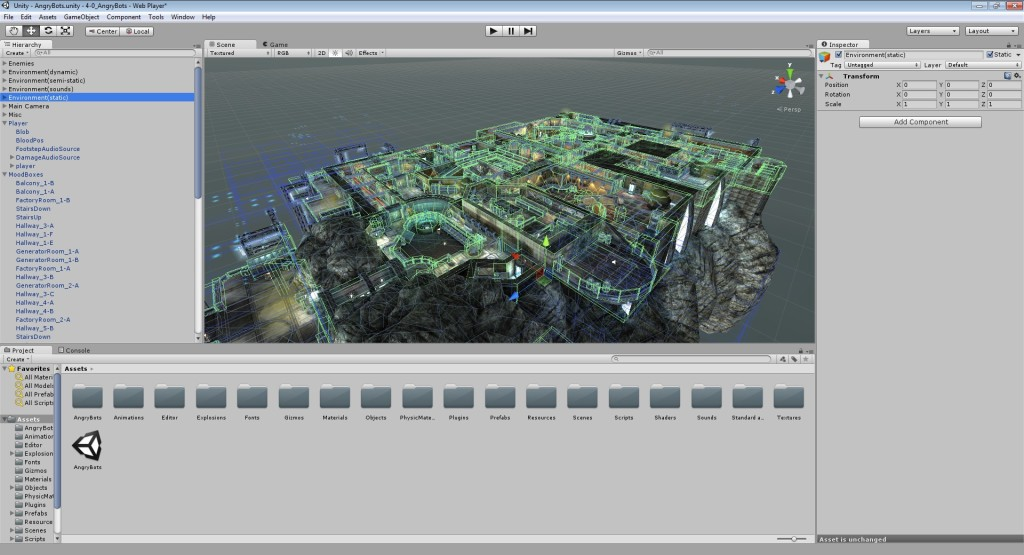 Screenshot 1 - Unity Engine