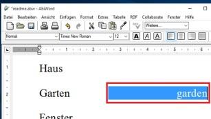 Lernen am PC: So funktioniert es per Textprogramm Genial einfacher Trick, im Beispiel sind aber doch einige Mausklicks nötig.©COMPUTER BILD