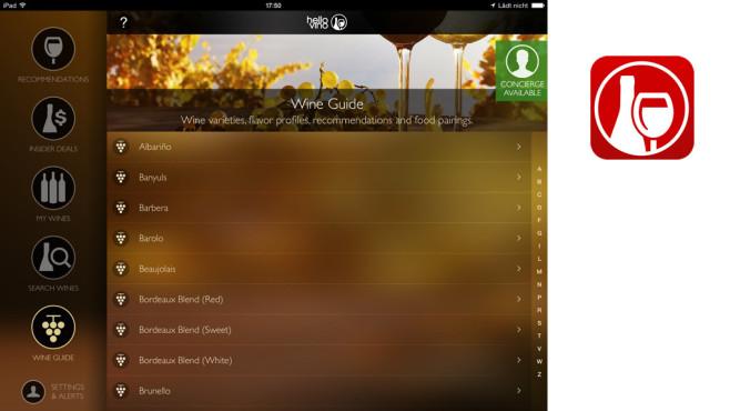 Hello Vino – Wine Assistent ©Drive Thru Interactive