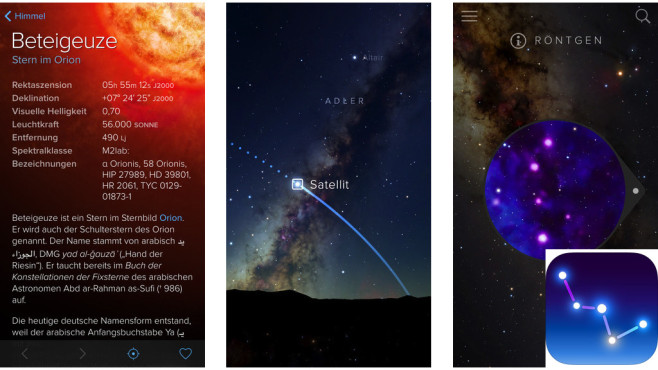 Sky Guide – Sternenkarte ©Fifth Star Labs