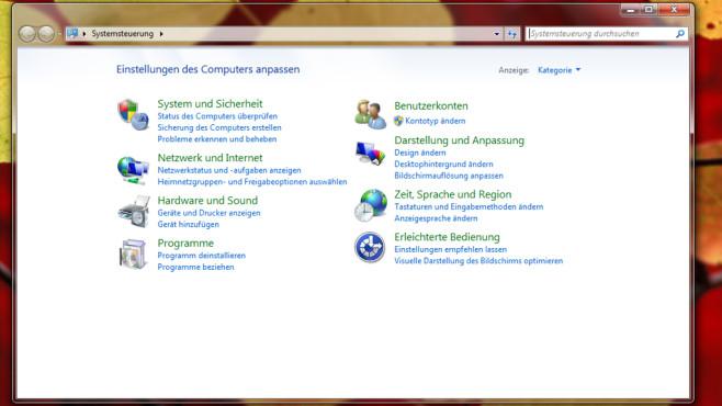 Betriebssystem einstellen ©COMPUTER BILD
