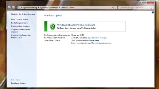 Suche nach Windows-Updates ©COMPUTER BILD