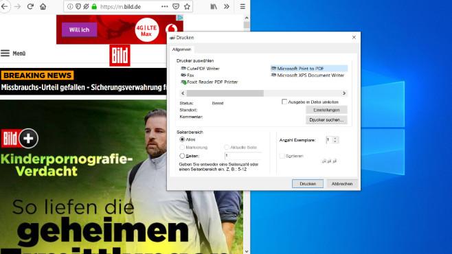 PDF-Dateien global erzeugen ©COMPUTER BILD