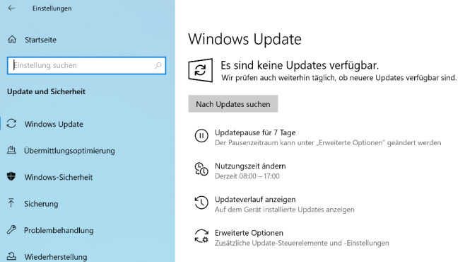 Windows Update anwerfen © COMPUTER BILD