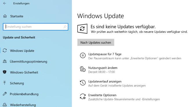 Windows Update anwerfen ©COMPUTER BILD