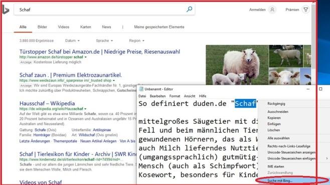 """Zoomen im Editor und """"bingen"""" ©COMPUTER BILD"""