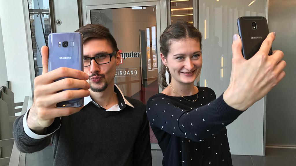 selfie kameras im test smartphones im vergleich. Black Bedroom Furniture Sets. Home Design Ideas
