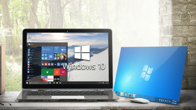 Windows 10: Die besten Funktionen schon heute nutzen Mit den richtigen Tools möbeln Sie Ihr altes Windows mit coolen Windows-10-Funktionen auf. © nikolarakic – Fotolia.com, Microsoft
