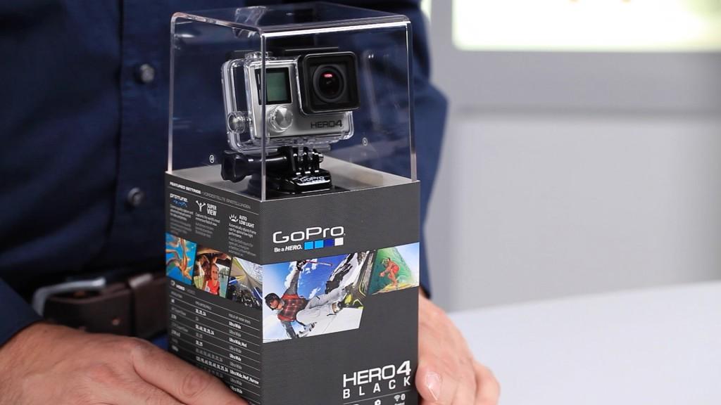 gopro hero 4 neue action cam ausgepackt audio video. Black Bedroom Furniture Sets. Home Design Ideas