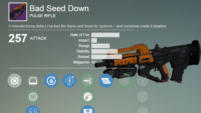 Destiny: Bad Seed Down © Activision