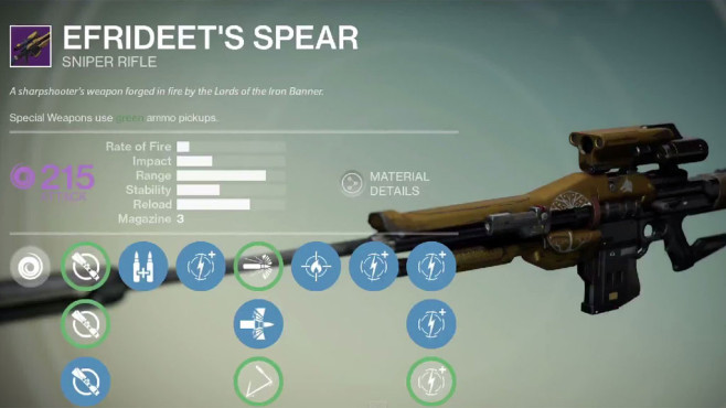 Destiny: Efrideent's Spear © Activision