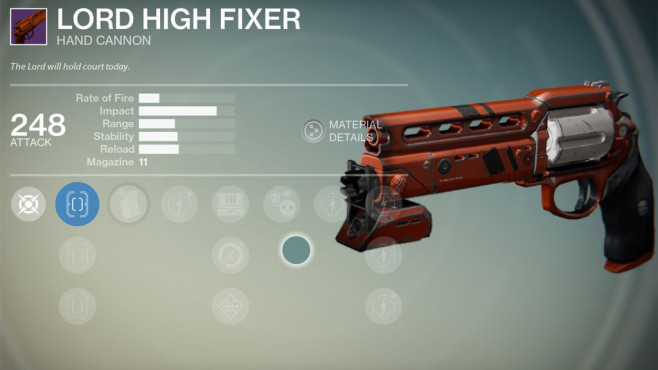 Destiny: Lord High Fixer © Activision