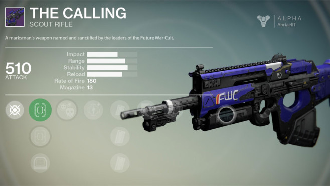 Destiny: The Calling © Activision