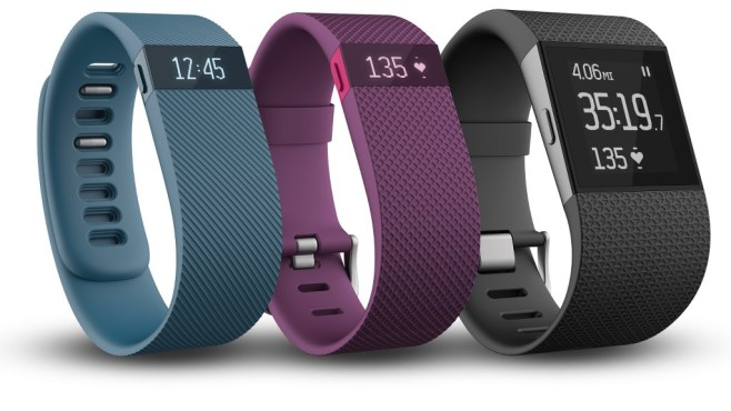 Fitbit Charge, Charge HR und Surge©Fitbit