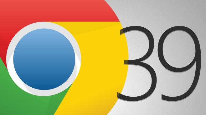 Google Chrome 39 (Beta)©Google