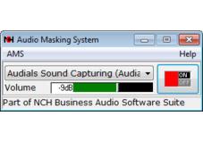 Screenshot 1 - Audio Masking System