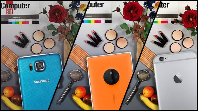 Kamera-Handy-Test: Die besten Foto-Smartphones im Vergleich ©COMPUTER BILD