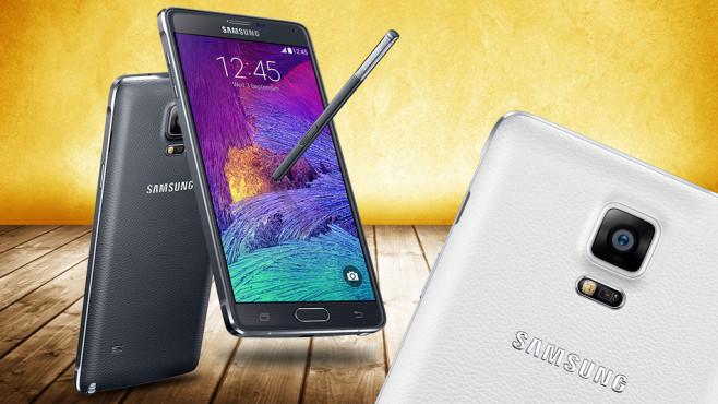 Samsung Galaxy Note 4 ©COMPUTER BILD