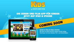 Bildschirmfoto der Produktseite von Kids by Watchever©Watchever