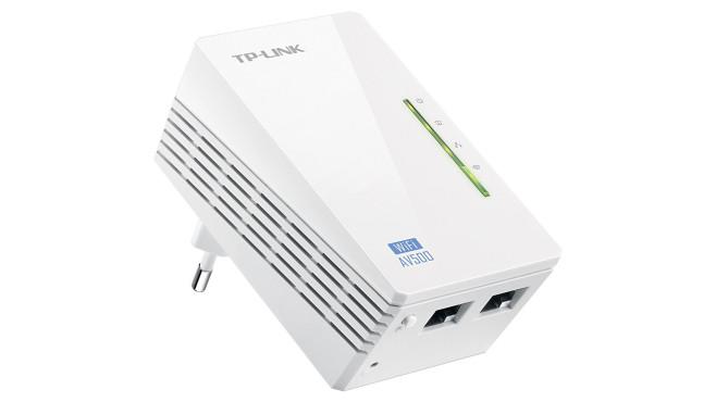TP-Link WiFi N Powerline AV500 Extender (TL-WPA4220) ©TP-Link