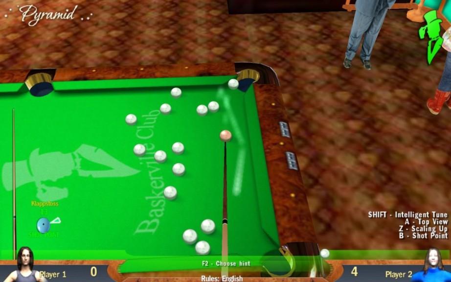 Screenshot 1 - Billiards Pyramid