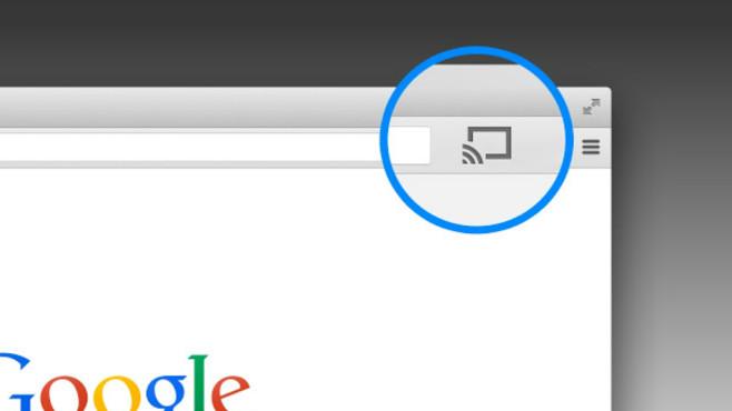 Chrome-Browser auf TV ©Google