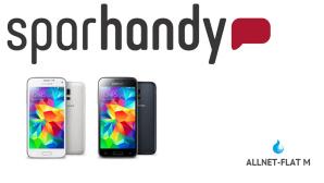 Allnet-Flat mit Top-Smartphone f�r 1 Euro©Sparhandy, Samsung