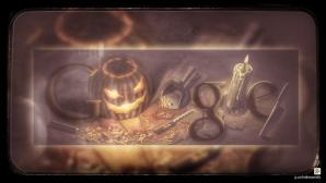 Google Doodle Halloween 2008©Google