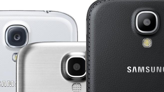 S4 GT-i9515 Rückseite©Samsung/Collage: COMPUTER BILD