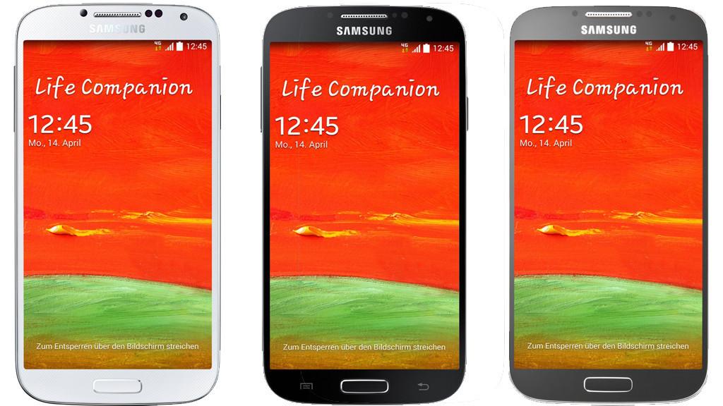 Samsung Galaxy S4 GT-i9515©Samsung/Collage: COMPUTER BILD