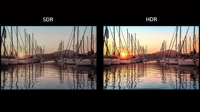 Der große Fernseher-Test 2019: Das müssen Sie beim Kauf wissen! Mit HDR können Fernseher intensivere Farben, feiner aufgelöste Verläufe und größere Maximalhelligkeit wiedergeben.©Sony