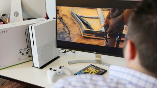 Xbox One S: Die neue Mini-Xbox im Praxis-Test XXX©COMPUTER BILD