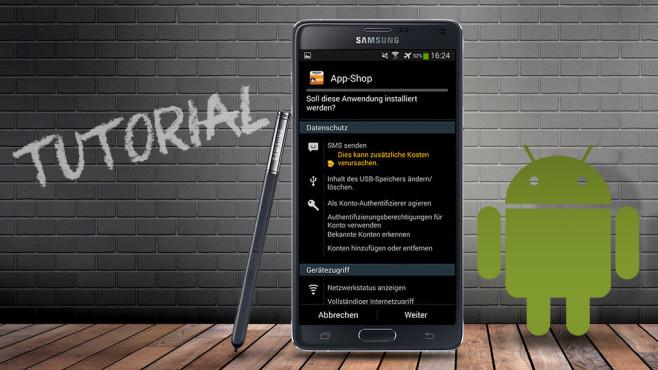 Anleitung©mekcar - Fotolia.com, Samsung, Android