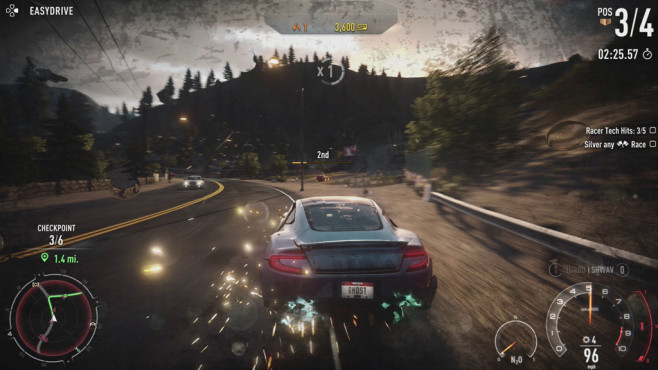 Need for Speed – Rivals: Porsche ©Electronic Arts