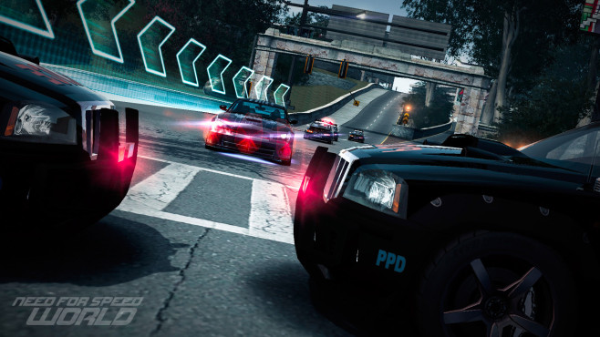 Need for Speed – World: Polizei ©Electronic Arts