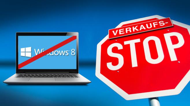 Microsoft stoppt Windows 8©Davis - Fotolia.com
