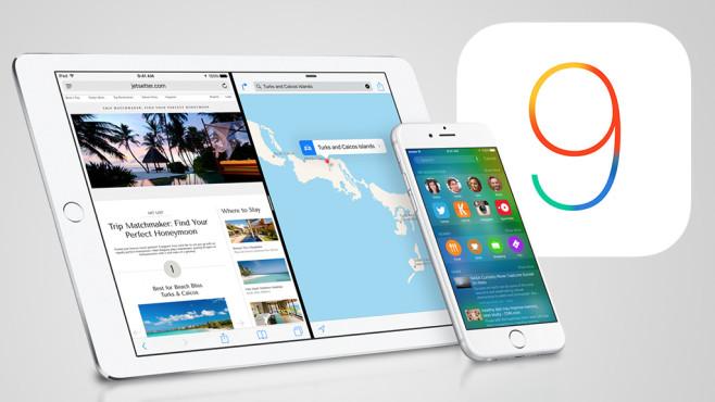 iOS 9 ausprobiert©Apple