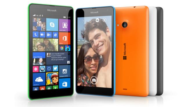 Microsoft Lumia 535©Microsoft