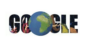 Google Doodle zum Tag der Erde 2015©Google