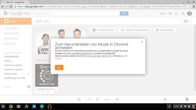 Google Play Music © COMPUTER BILD